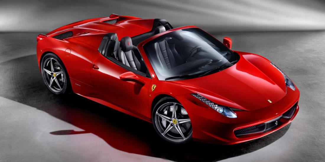 2013 Ferrari 458 Spyder