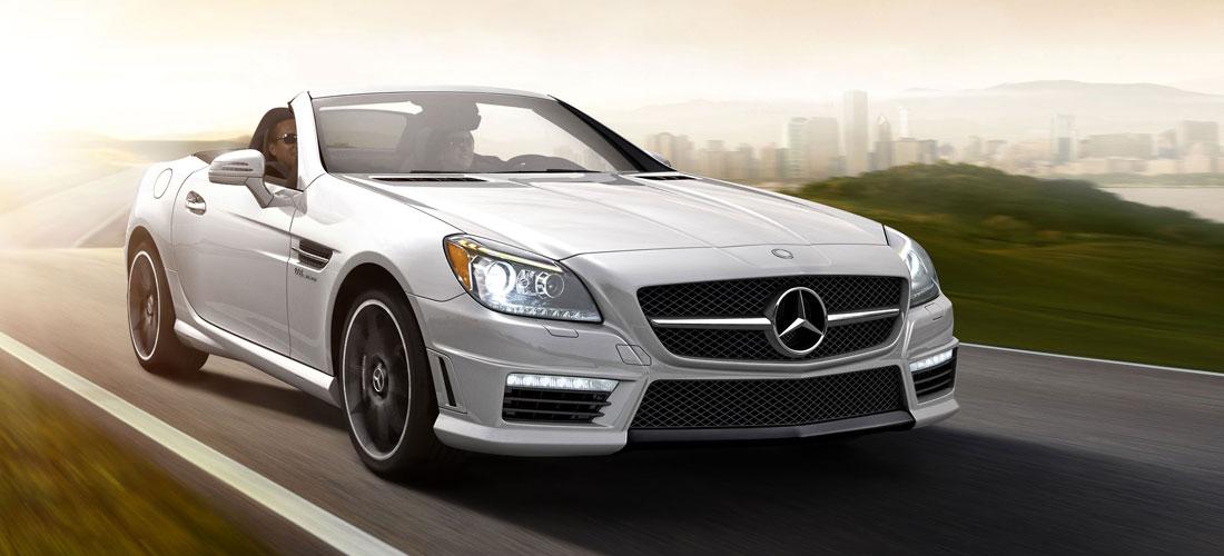 2013 Mercedes Benz SLK550 AMG