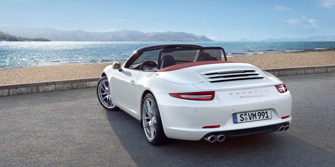2013 Porsche 911 Carrera Cabriolet S