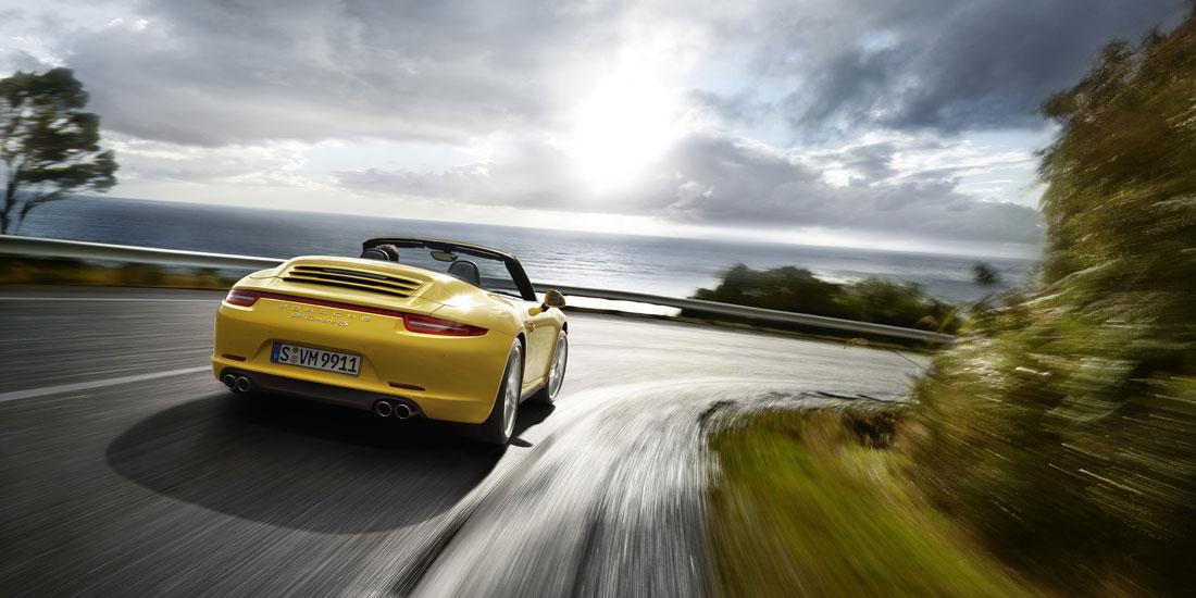2013 Porsche 911 Carrera 4 Cabriolet S
